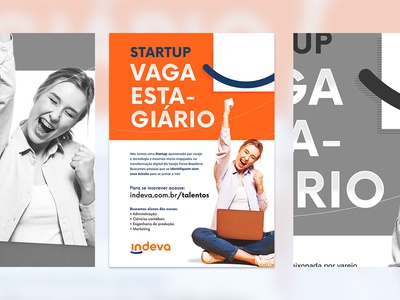 Job Vacancies Flyer - Indeva by VTEX