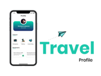 Travel Profile page