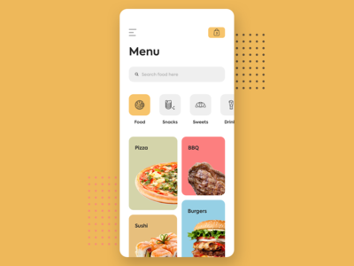 Food/Drink Menu - Daily UI 043