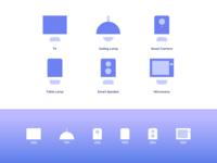 Smart Home Icon Set Design