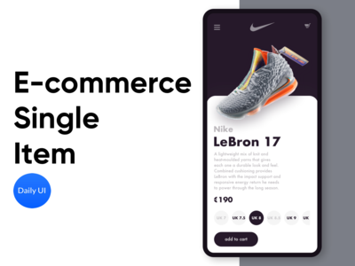 E-commerce Single Item - Daily UI 012