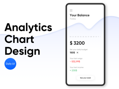 Analytics Chart Design - Daily UI 018