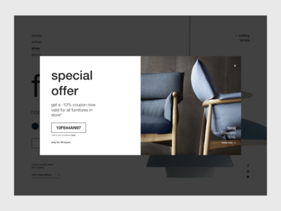 Special Offer Design - Daily UI 036