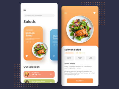 Recipe Design - Daily UI 040