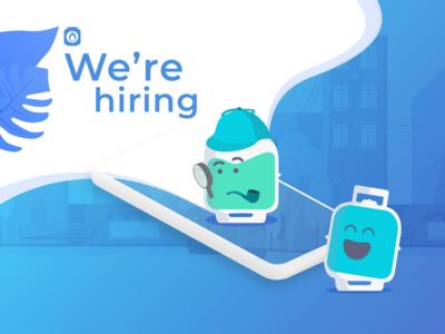 We're hiring! :)
