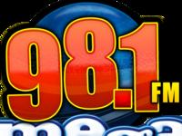 Mega 98.1FM Logo