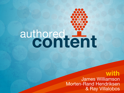 Authored Content branding logo
