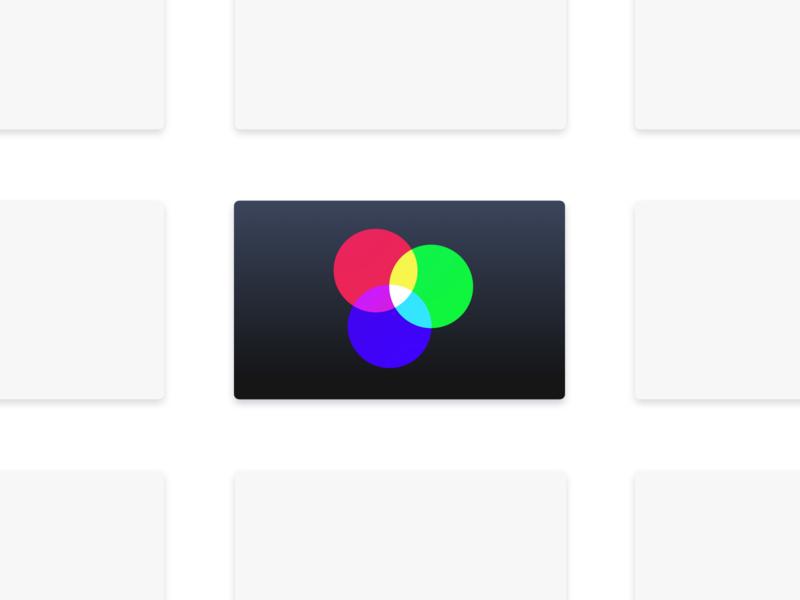Chroma 2 0 for Apple TV app icon by Igor Dyachuk on Dribbble