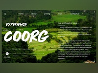 Tourism Landing Page