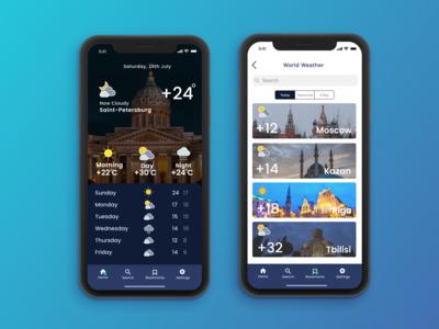 Weather App Challenge #1 concept weather weatherapp colors appdesign figmadesign figma ios app design ui