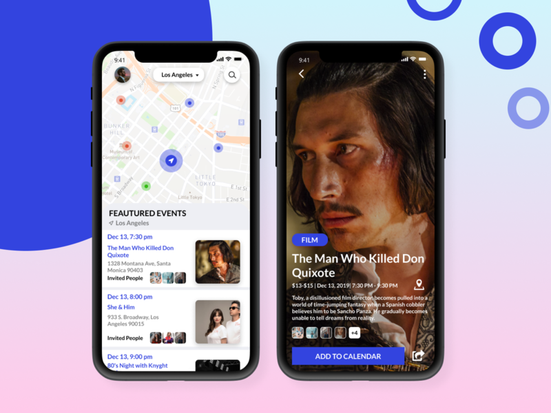 Event App #1 ios 2020 2019 date calendar eventapp figmadesign colors uidesign figma adobe adobe xd design ui