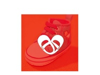 Heart shaped shoes