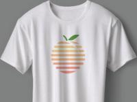 Peach logo design
