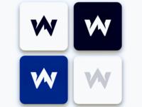 monogram W logo