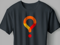 question mark+map pin