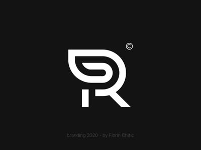 RP Monogram Branding artwork inspire explore symbol design logo mark brand trademark type monogram logo rp monogram