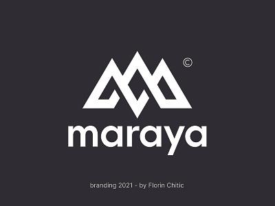 Maraya Branding mlogo logodesign events branding