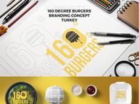160 Degree Burgers Brand Concept