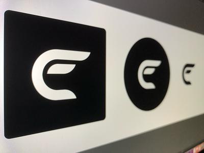 Personal brand progress concept designer trademarks blackandwhite logo monogram lineart uniqueconcept personaldesign brands