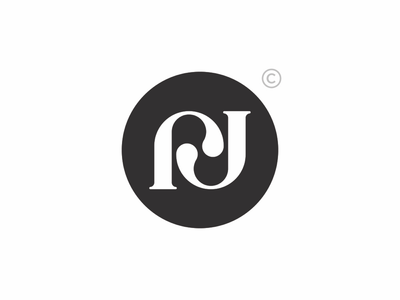 rj monogram exploration rjmonogram trademark lineart typography monogram brand design creative concept branding