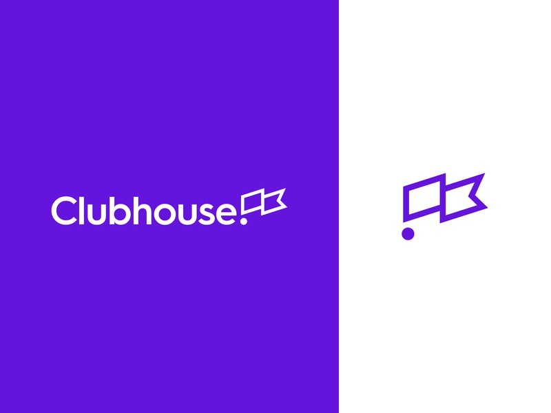 Clubhouse Brand Identity photography typography design logo branding saas tech vector