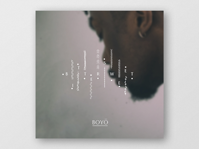 Single cover art. Bittersweet — Boyo. cover artwork cover arts cover art