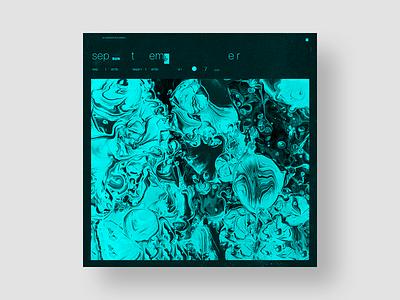 Album cover art. Concept 7 (September) typography minimal art designer aleksandr solonskyi aleksandr solonskyi solonskyi artwork design cover artwork album cover design album cover art album cover