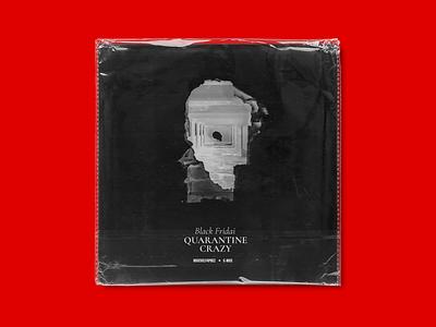 Album cover. Black Fridai – Quarantine Crazy solonskyi poster music cover cover art album cover design album cover art