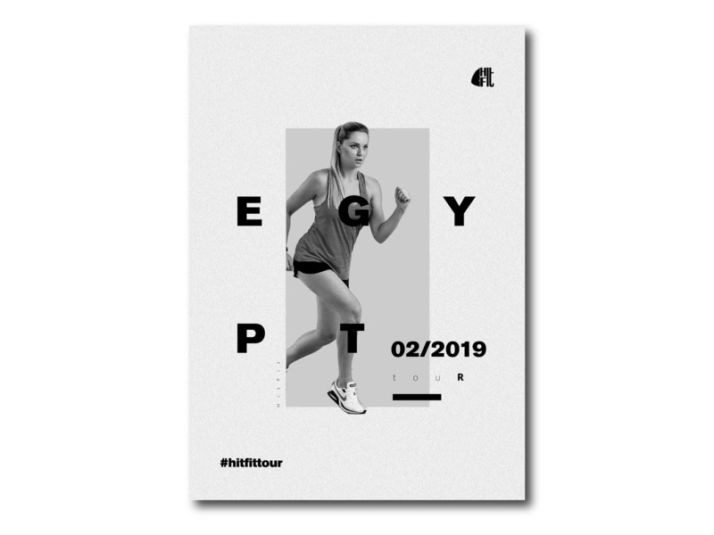 HitFit Poster photoshop photo minimal image editor graphic design brand graphic design editing design typography solonskyi logo minimalist poster minimalist minimlist resume fitnes branding swiss design posterdesign poster