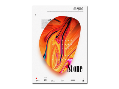 "Poster ""Stone"""