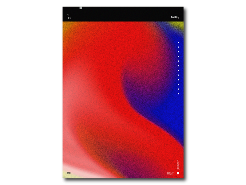 The Mark Rothko's style paint brush web android design design agency design art design  front-end  back-end design app art art book art challenge art board art center solonskyi app icon ux typography vector ui