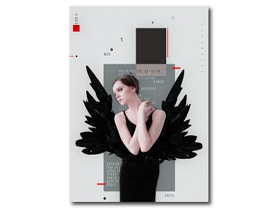 Angel Moday branding graphic design posterdesign minimal design illustrator lettering type website flat animation web app icon ux typography vector ui graphic design brand solonskyi