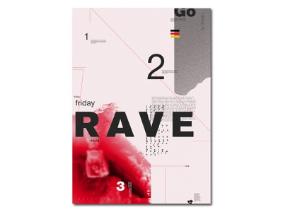Rave style character art clean mobile ios identity illustrator lettering type website 2 color rave flat animation web app icon solonskyi vector ui