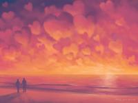 Valentine's Day Card: Sunrise