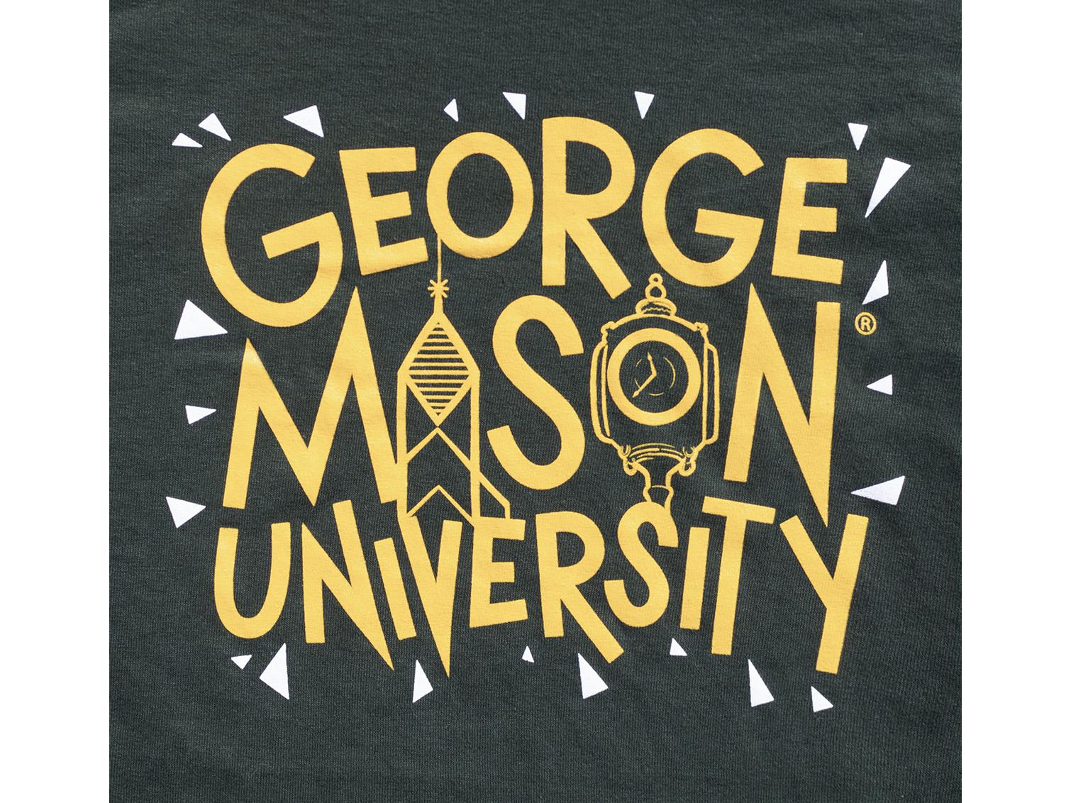 George Mason University Shirt Design typography tshirt tshirt design design gmu george mason university