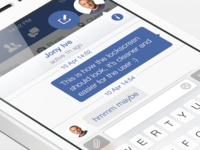 Facebook iOS7 - Chat