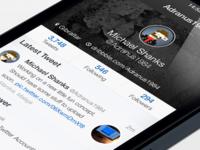 Tweetbot iOS7 - Profile