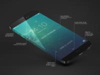 Ios7 lockscreen real pixels