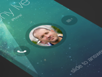 iOS7 - Incoming Call