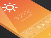 iOS7 - Weather