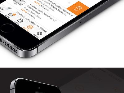 iOS7 - Amazon amazon redesign app ios7