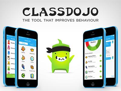 ClassDojo - iOS7 Redesign classdojo ios7 app school teachers behaviours redesign