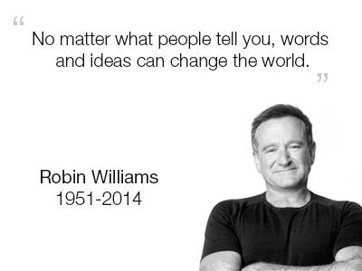 Robin Williams robin williams comedian funny childhood