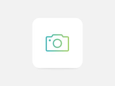 Camera minimal ios clean simple icon camera