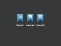 Ribbon Icons 1 - Linkedin