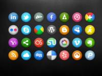 Social Icons 3