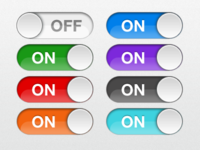 iOS Retina Switches