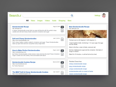 Search results daily ui 022 results search ux daily ui challenge daily ui daily 100 user interface ui design
