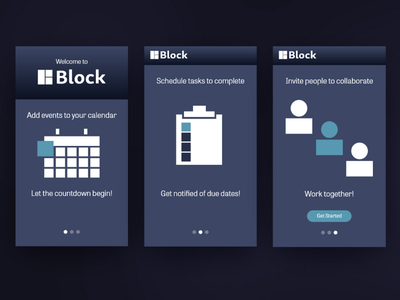 Onboarding screens daily ui 023 daily ui challenge