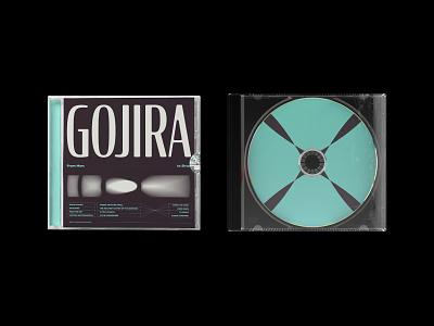 CD and cover design minimal 2d art vinyl album layout cd design cd artwork cd cover typography 2d flat design vector illustration